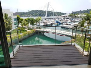 Composite Wood Decking @ Carribean at Keppel Bay