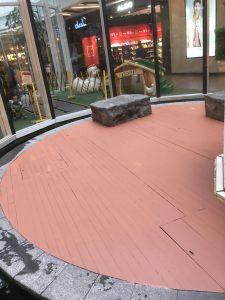 Balau Wood Decking @ Changi City Point Mall