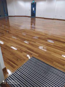 Burmese Teak Wood Flooring @ Essec Business School