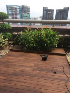 Chengal Decking @ Ngee Ann City Level 26