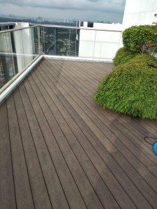 Composite Timber Decking @ D'Leedon