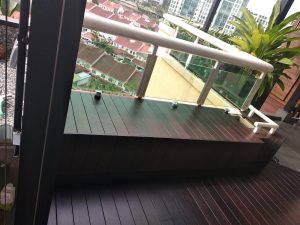 Chengal Wood Bench @ Hillview