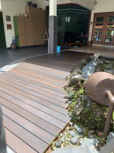 Chengal Wood Decking @ Pasir Ris Heights