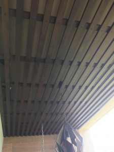 Balau Wood Ceiling at Southaven 2