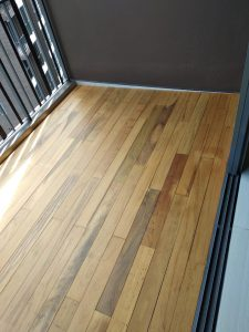 Chengal Wood Decking at Bellewoods