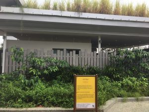Composite Fence at Jurong Lake Gardens