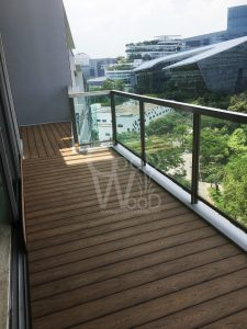 Composite Decking at 7 One North Gateway