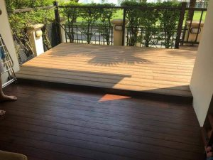 Composite Decking at Pebble Bay