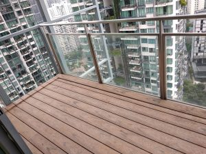 Composite Decking at Rivergate