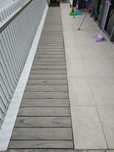 Composite Decking at The Arte