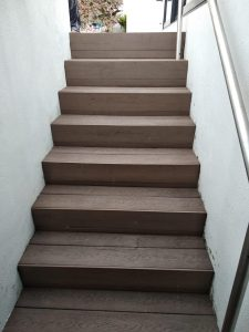 Composite Wood Staircase at D'Leedon