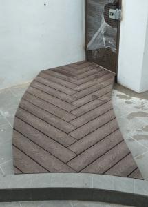 Herringbone Composite Decking @ Hythe Road
