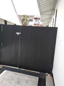 Wood Privacy Fencing at Kuo Chuan Avenue