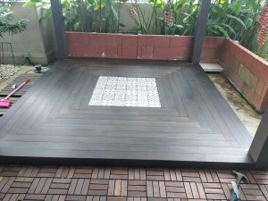 Chengal Wood Decking @ Southaven 2