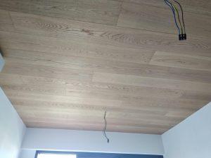 Engineered Oak Wood Ceiling @ Grandeur Park Residences