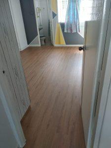 Golden Oak Vinyl Flooring @ 546 Jurong West Street 42