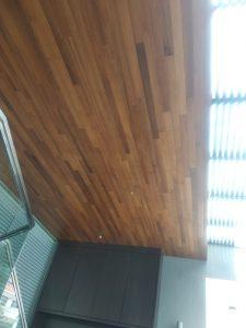 Burmese Teak Wood Ceiling @ Poole Road