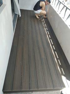 Composite Wood Decking @ Atelier Villas