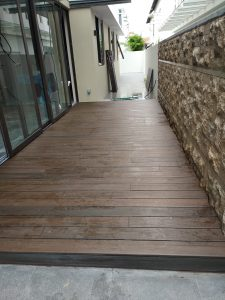 Composite Wood Decking @ Ripley Crescent