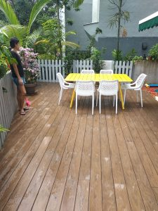 Composite Wood Decking @ Tanglin Hill