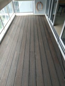 Composite Wood Decking @ The Scala